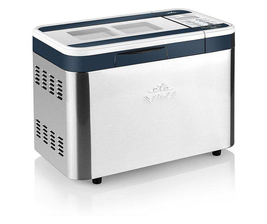 Masina de preparat paine ETA Duplica Vital Plus 2147, 1.4 kg, 815 W, 14 programe, otel inoxidabil