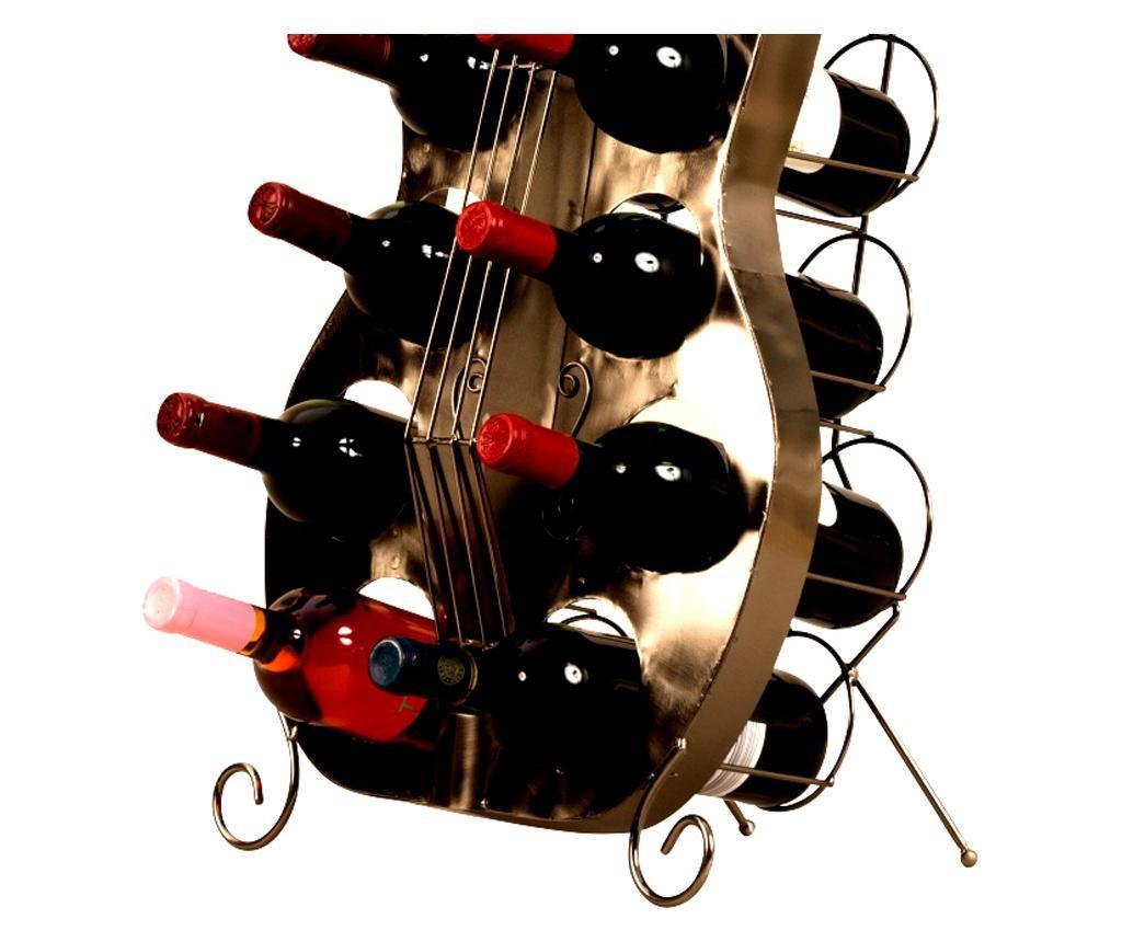 Suport 10 sticle vin model chitara H101 cm