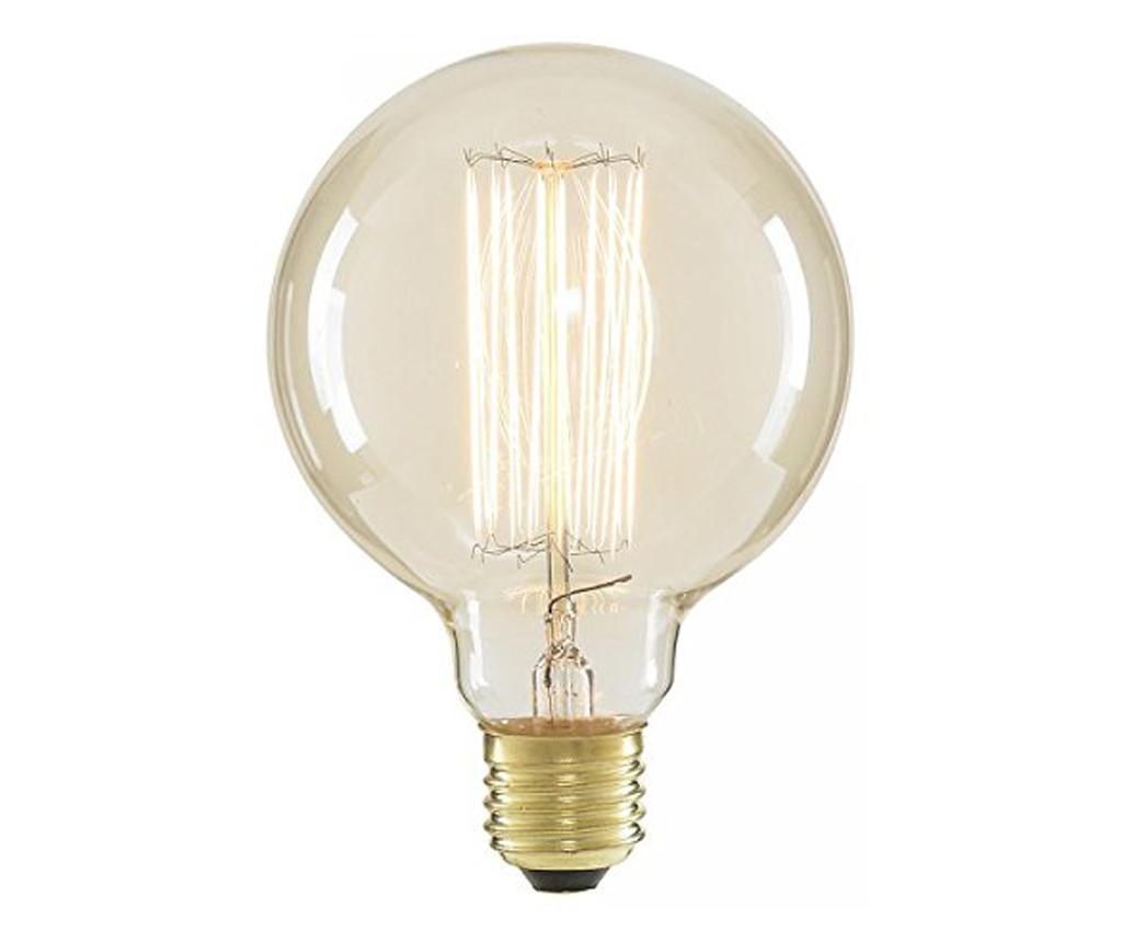Bec Edison Glob, Large, 40 W, Lumina Calda