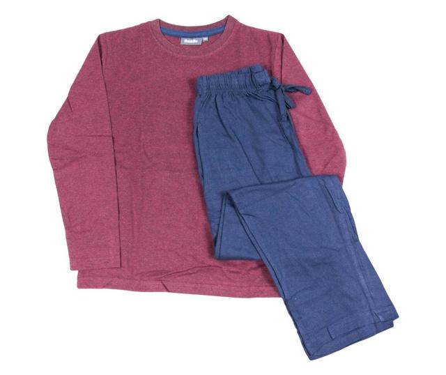 Pijama bordeaux pentru baieti Comfort, Bel & Bo