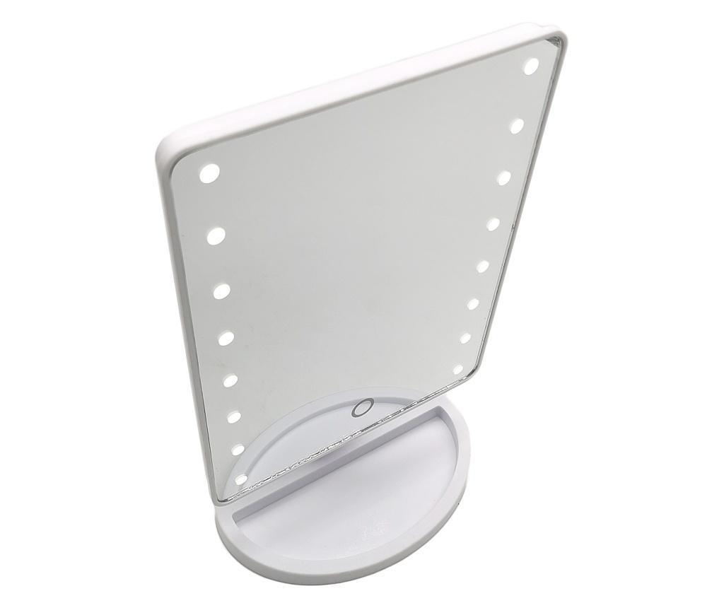 Oglinda cu led Aprilla, alb