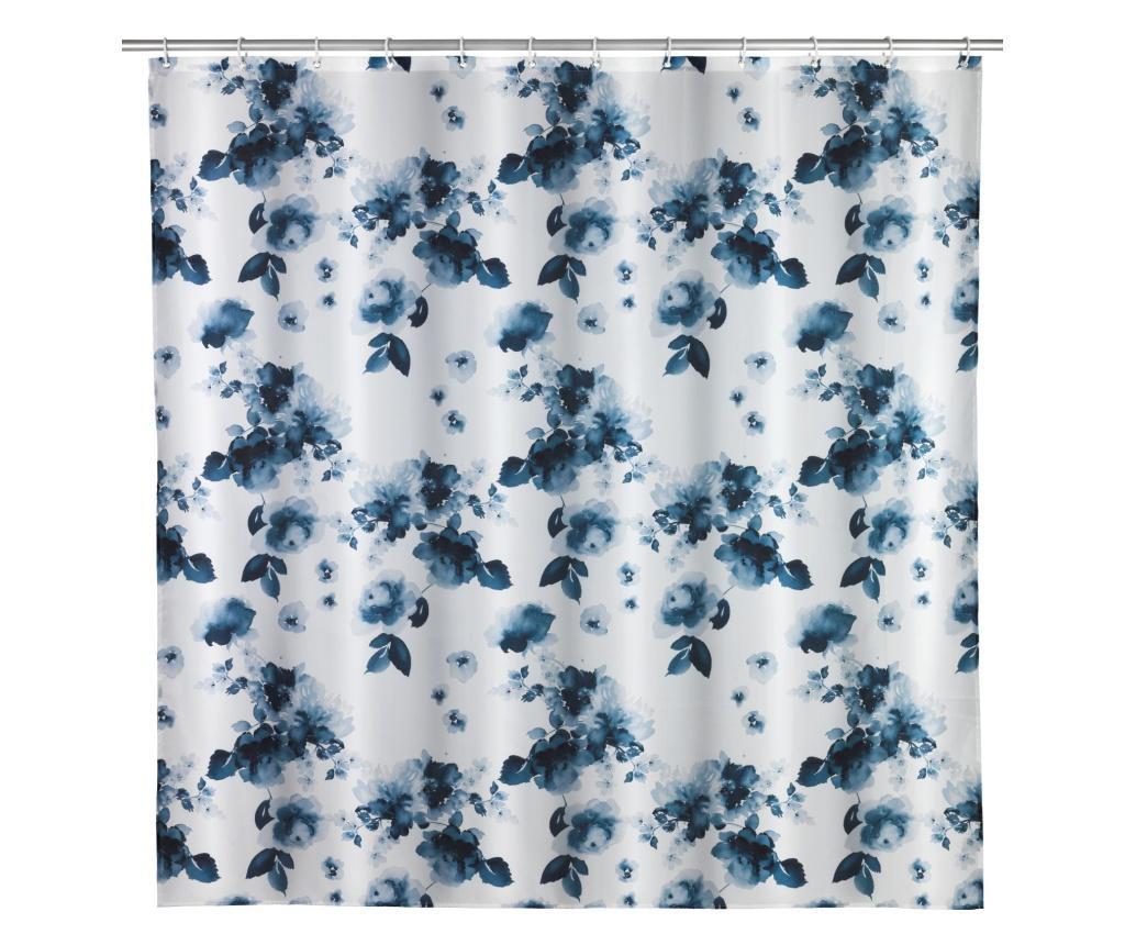 Zasłona prysznicowa Rose bleu