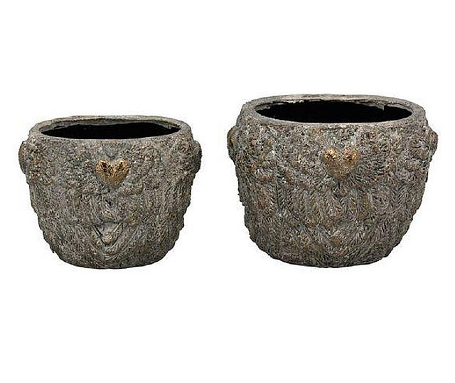Suport pentru plante, 25x18x18 cm, Terracotta