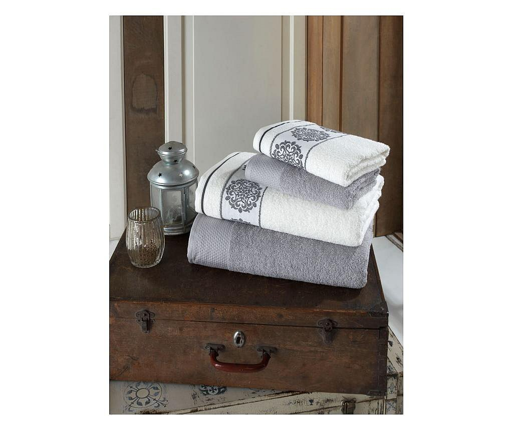 Zestaw 4 ręczników Orient Grey
