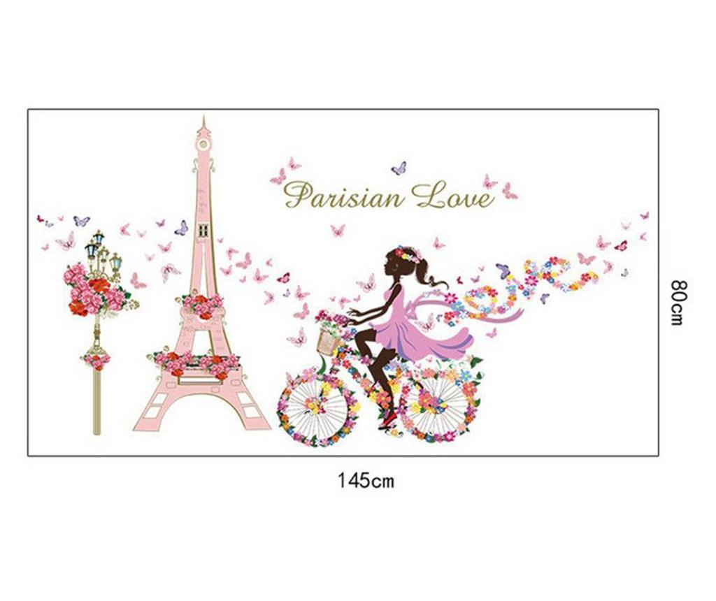 Sticker decorativ, Parisian Love 145 cm, 157STK