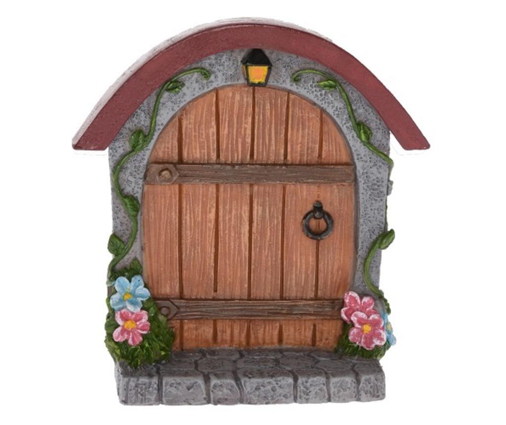 Ornament poarta pentru gradina zane, 8,5 x 2,6 x 9 cm