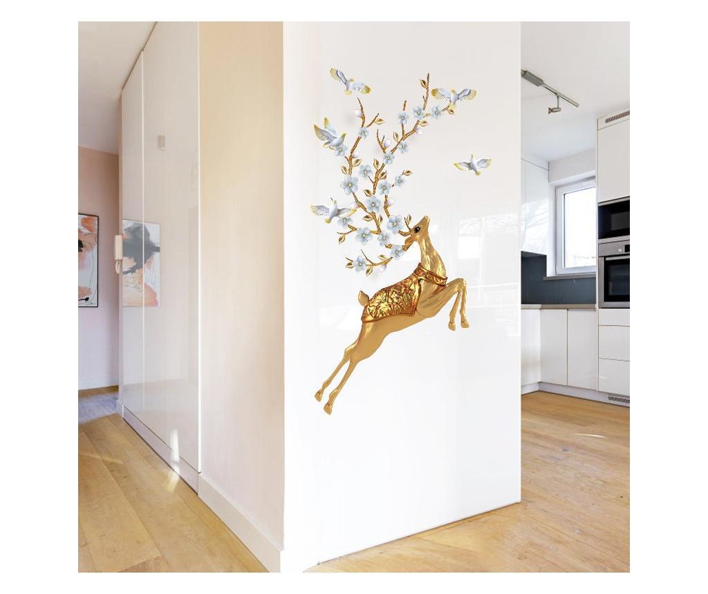 Sticker decorativ, Caprioara, 123 cm, 761STK