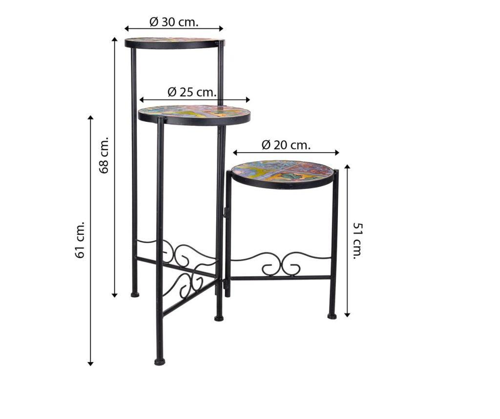 Set 3 suporturi pentru vase fierbinti