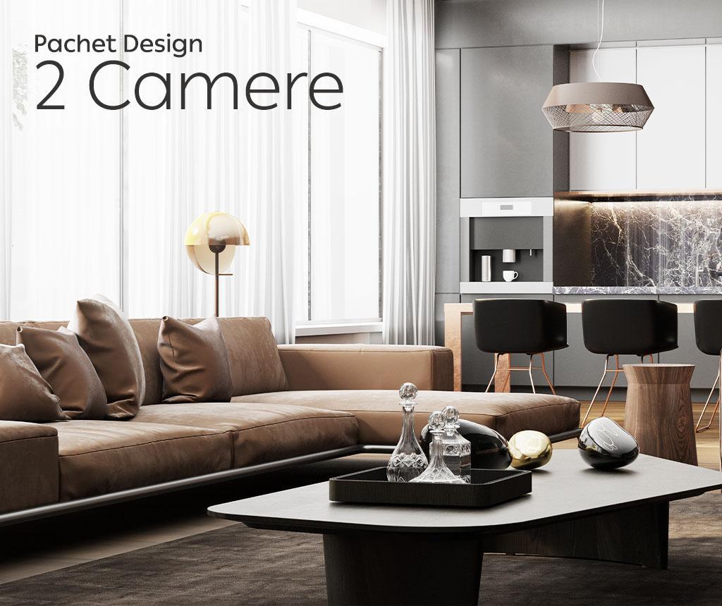 Pachet Design Apartamanet 2 Camere