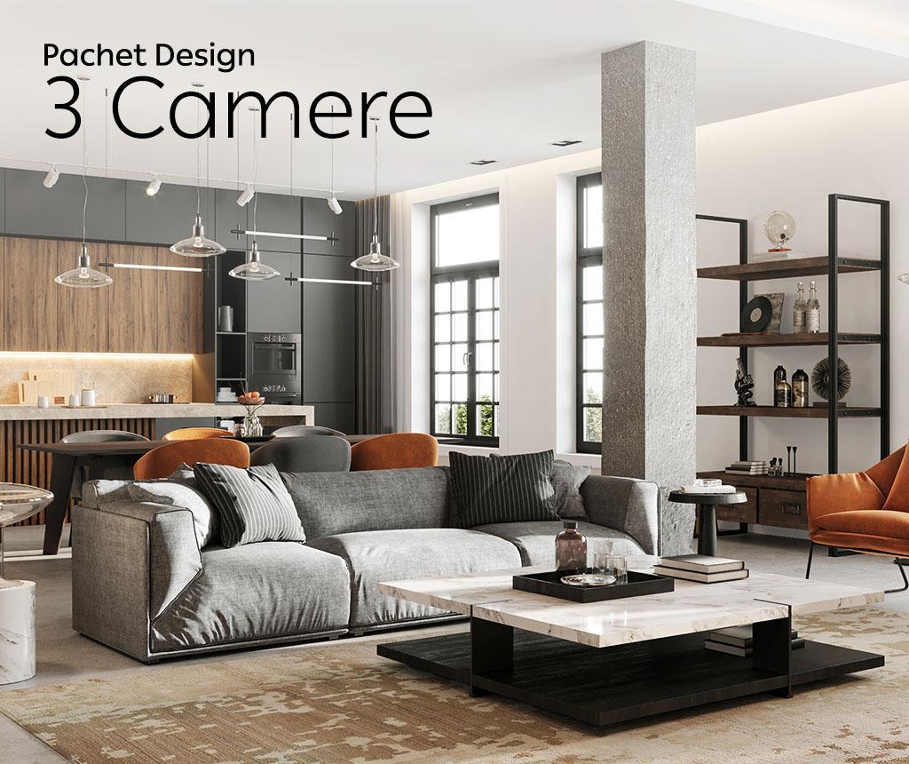 Pachet Design Apartament 3 Camere