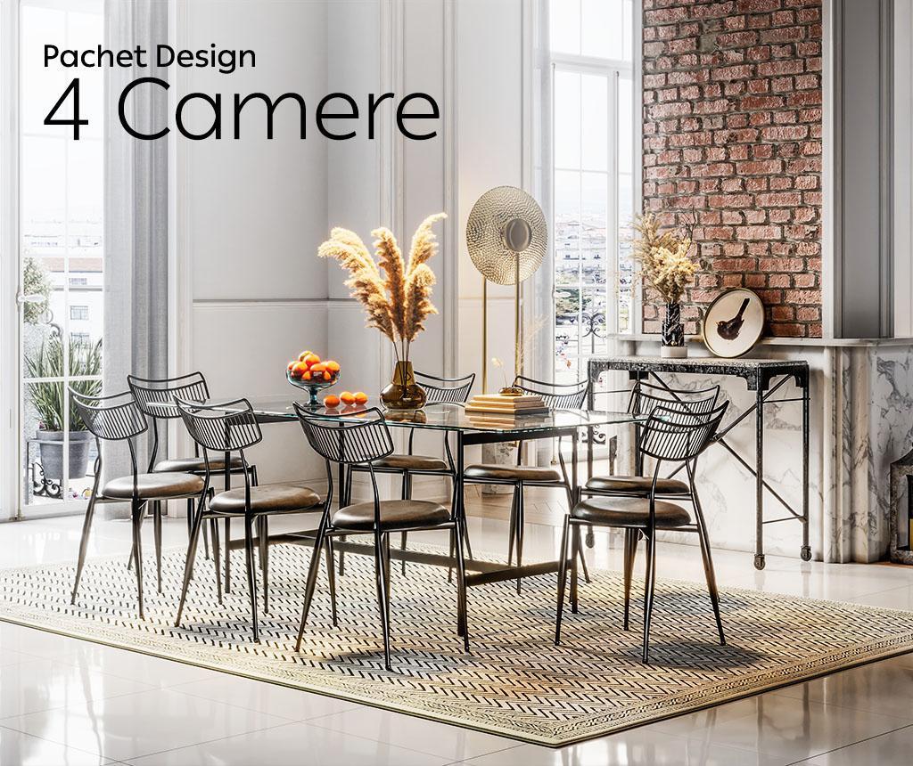 Pachet Design Apartament 4 camere