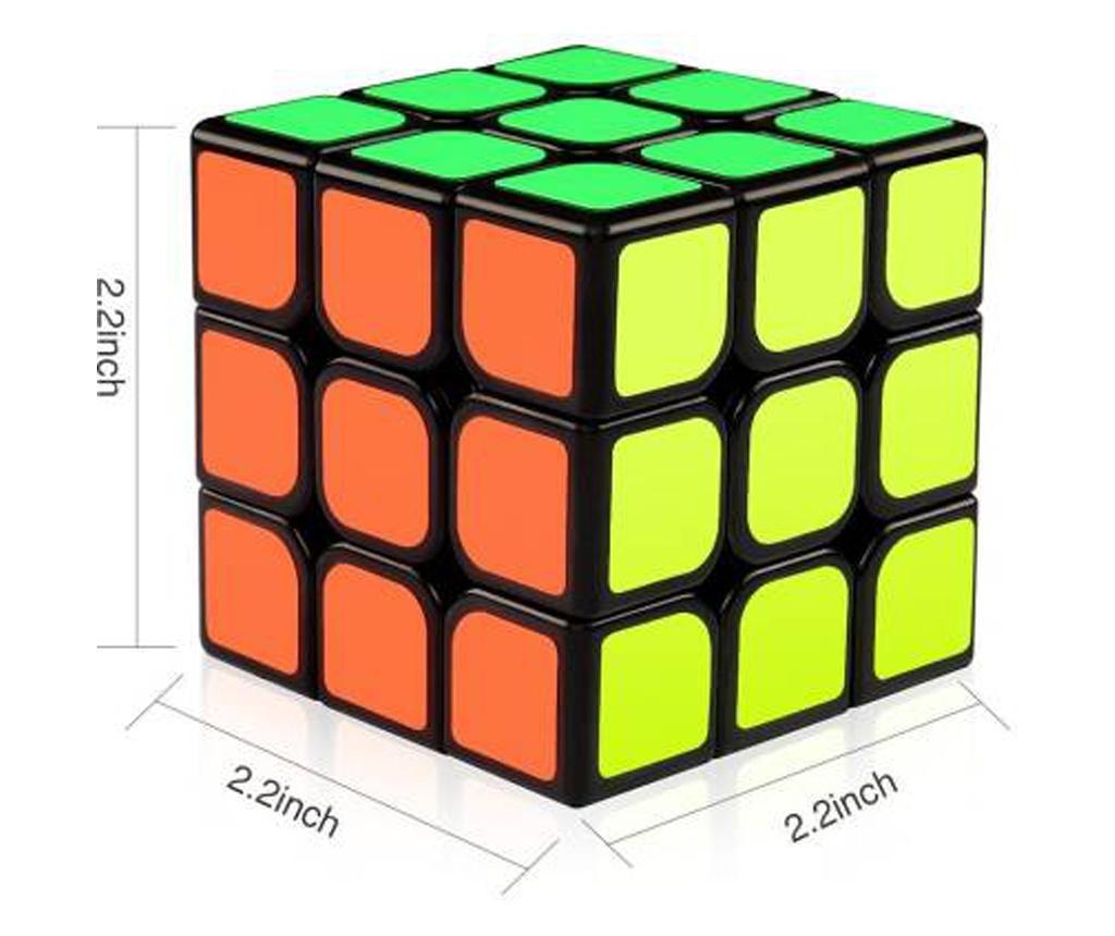 Cub Rubik 3x3x3 QingHong Yumo Cube Black, 207CUB