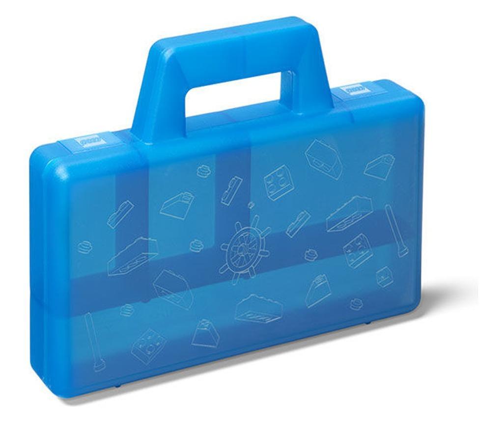 Cutie sortare LEGO albastra