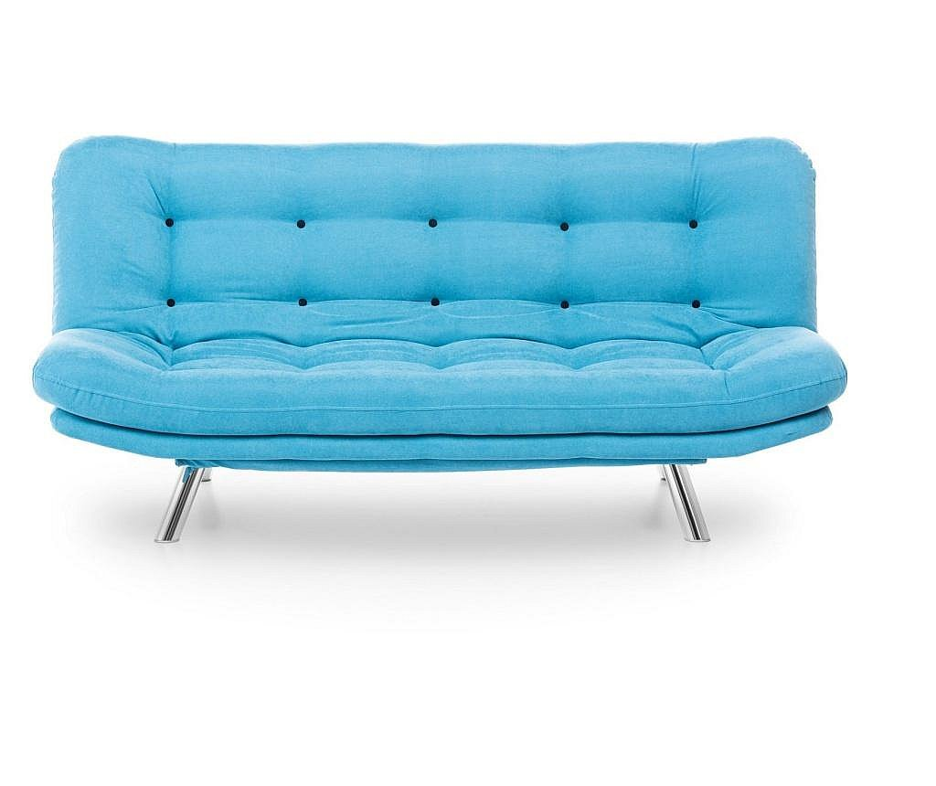 Sofa trosjed na razvlačenje Marmaris Turquoise