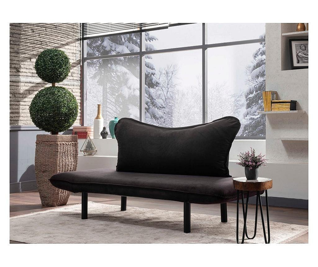 Canapea extensibila cu 2 locuri Carla Black