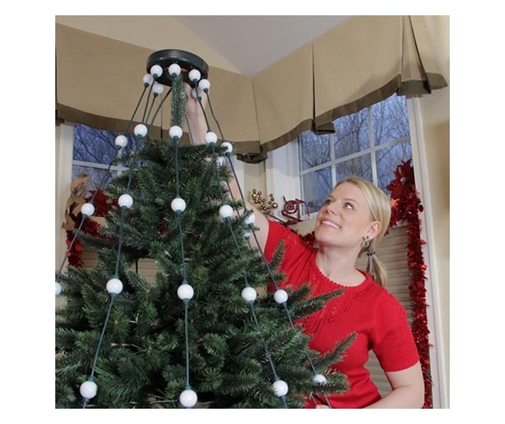 Perdea de lumini verticale pentru brad - Tree Dazzler