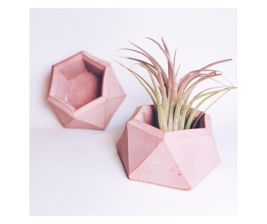 Mini suport hexagonal din beton